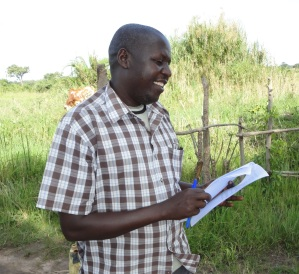 Dr Joseph Erume in the field in Uganda (photo credits: ILRI/Joseph Erume)